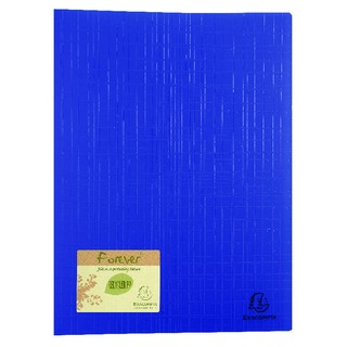 Display Book 40 Pocket Blue Pack of 12 884572E