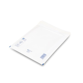 Bubble Lined Envelope Size 5 220x265mm White (100 Pack)
