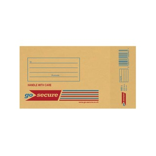 Bubble Lined Envelope Size 1 100x165mm Gold (20 Pack)