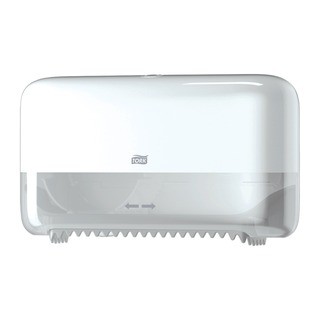 Mid Size Blue Plastic Toilet Paper Dispenser 55804