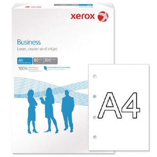 Business A4 White 80gsm 4 Hole Punched Paper (500 Pack)