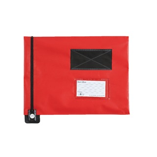 Secure Flat Mail Pouch Red 286x336mm FP7R