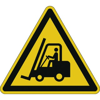 Caution Forklifts Floor Sign 17340