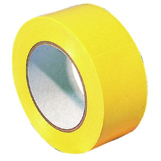 Lane Marking Tape Carton of 18 Rolls Yellow (18 Pack) 329596