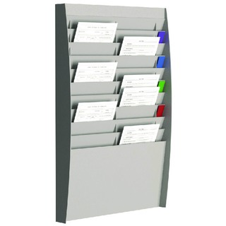 A4 Document Control Panel 20 Compartments Grey V210.