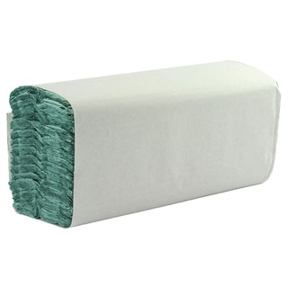 1-Ply Green C-Fold Hand Towels (2850 Pack)