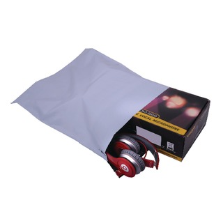 Secure 335 x 430mm Lightweight Polythene Envelope (Pack 100 Pack)