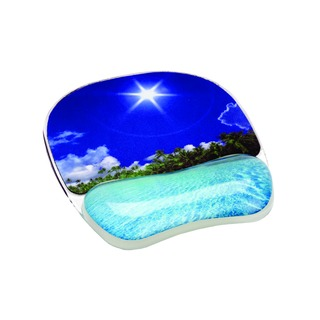 Photo Gel Mouse Pad With Wrist Support 9202