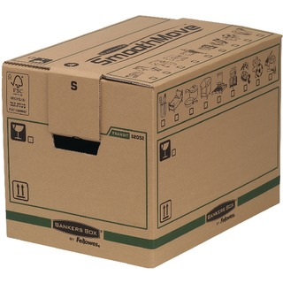 Fellowes Bankers Box Small Ship and Secure Box (5 Pack) 6205201