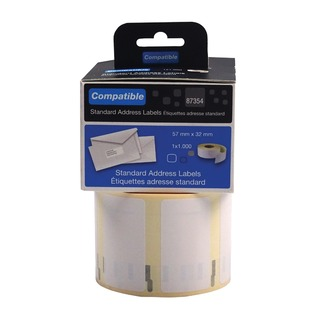 Compatible DYMO Multipurpose Label 57 x 32mm (1000 Pack)