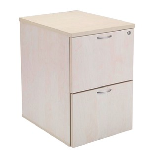 Maple 2 Drawer Filing Cabinet