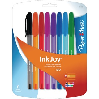 Mate InkJoy 100 Assorted Ball Pen (8 Pack) 1927074