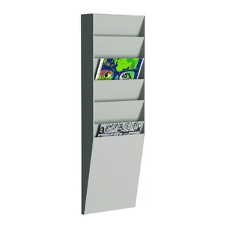 A4 Document Control Panel 6 Compartments Grey V16.02