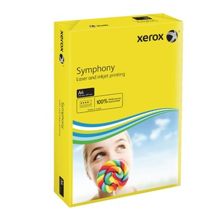 Symphony Dark Yellow A4 80gsm Paper (500 Pack)