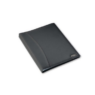 Soft Touch Smooth A4 Display Book 36 Pocket Black 2101189