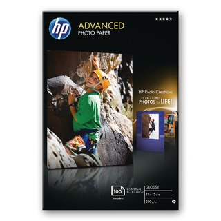 White 10x15 Advanced Glossy Photo Paper250gsm (100 Pack)