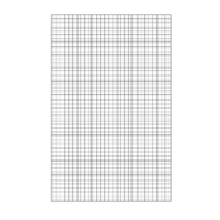 Graph Paper Loose A4 75gsm 2500 PP 100103
