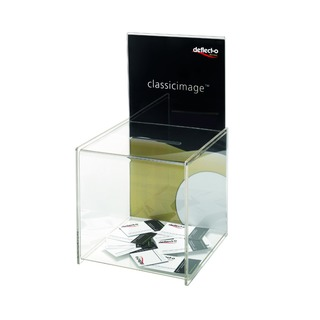 Clear Suggestion Box/Sign Holder DE