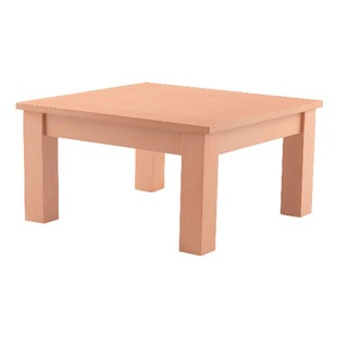 Beech 600mm Square Reception Table