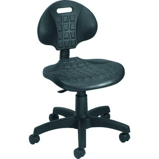 Factory Chair Polyurethane Black