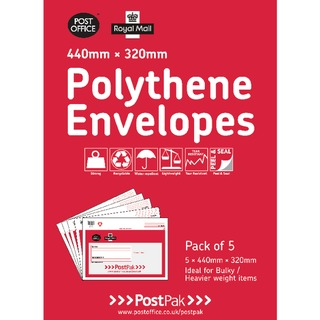 lythene 440x320 Envelopes (20 Pack) 101-3485
