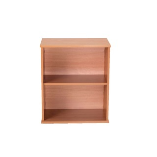 600mm Bavarian Beech Desk High Bookcase
