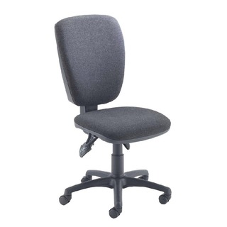 Charcoal High Back Operator Chair