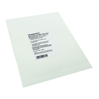 Transtext Self-Adhesive Clear Film A4 210mmx297mm (25 Pack) UG69