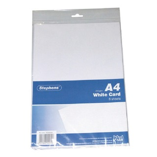A4 White Craft Card (10 Pack)