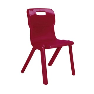 1 Piece 430mm Burgundy Chair (30 Pack)
