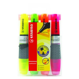 Luminator Assorted Highlighters (4 Pack) 71/