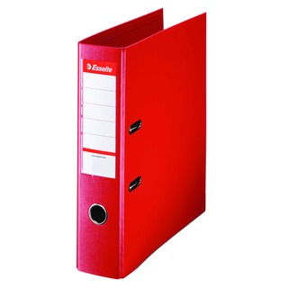 Esselte Polypropylene A4 75mm Red Lever Arch File (10 Pack) 4