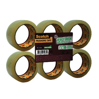 Clear Recycled Packaging Tape 50mm x 66m (6 Pack) GC5066F6-TSP-EU