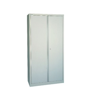 Grey 2 Door Storage Cupboard 1806mm