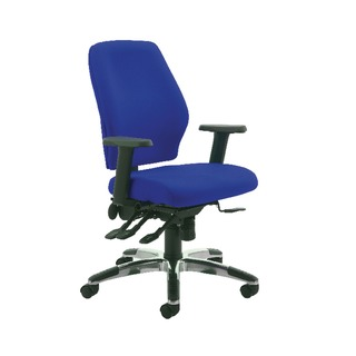 Agility High Back Posture Blue Chair