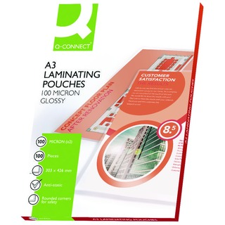 A3 Laminating Pouch 200 Micron (100 Pack)