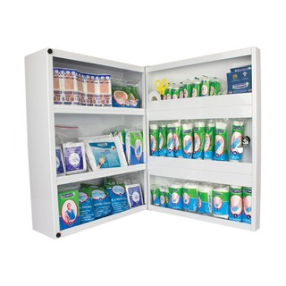 First Aid Metal Cabinet 1-50 People 4603