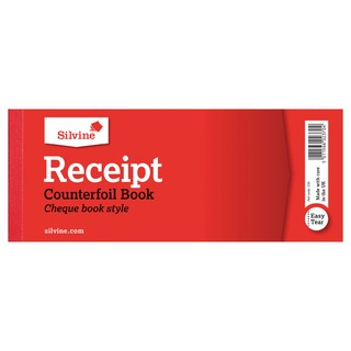 Receipt Book 80x202mm With Counterfoil (36 Pack)