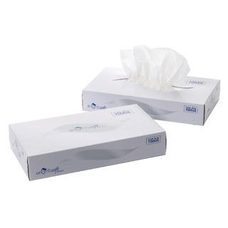 2-Ply White Facial Tissue Mansize 240 x 275mm 100 sheets (24 Pack) MS