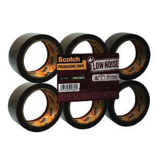 Buff Low Noise Tape 48mm x 66m (6 Pack) 3120B48