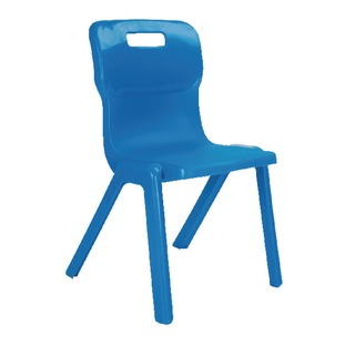1 Piece 380mm Blue Chair (10 Pack)