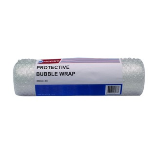 Secure Bubble Wrap Roll Small 300mmx3m Clear (16 Pack)