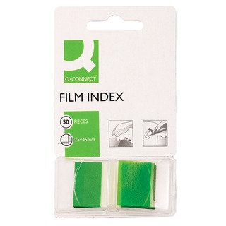 Green 1 Inch Page Marker (50 Pack)