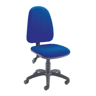 High Back Tilt Operator Blue Chair