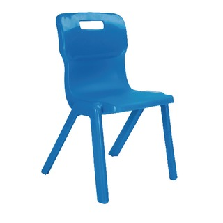 1 Piece 430mm Blue Chair (10 Pack)