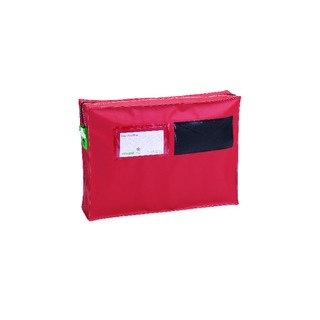 Mail Pouch With Gussett 355x250x75mm Small Red ZG1_T2SEAL