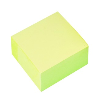 76 x 76mm Yellow Quick Note Cube