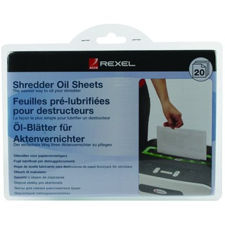 Non auto oiling Oil Sheets (20 Pack) 2101949