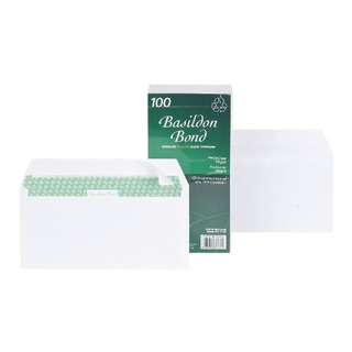 DL Envelope Peel and Seal 100gsm White (100 Pack)