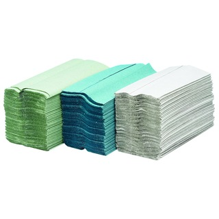 2-Ply White C-Fold Hand Towels (24 x 100 sheets Pack) KMAX505
